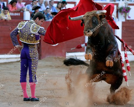 Editorial picture of Begona's Bullfighting Fair, Gijon, Spain - 17 Aug 2019