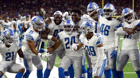 Editorial image of Lions Texans Football, Houston, USA - 17 Aug 2019