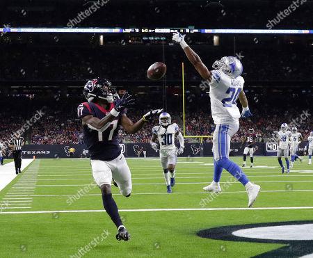 Editorial photo of Lions Texans Football, Houston, USA - 17 Aug 2019