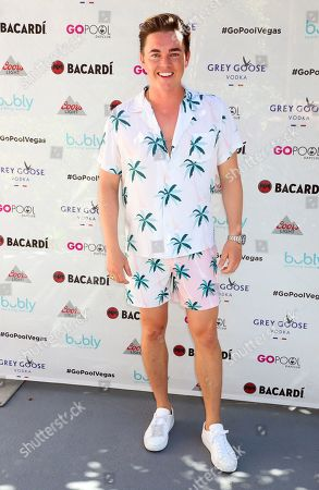 Editorial photo of Jesse McCartney in concert at the Go Pool & Dayclub, Flamingo Hotel & Casino, Las Vegas, USA - 17 Aug 2019
