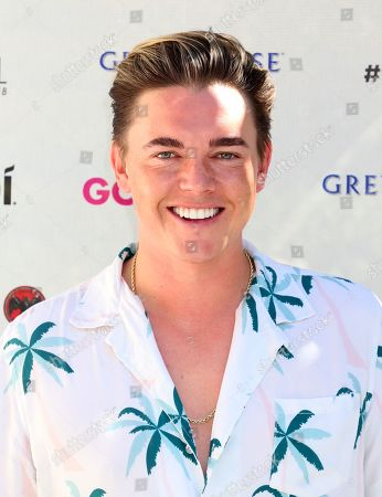 Editorial picture of Jesse McCartney in concert at the Go Pool & Dayclub, Flamingo Hotel & Casino, Las Vegas, USA - 17 Aug 2019