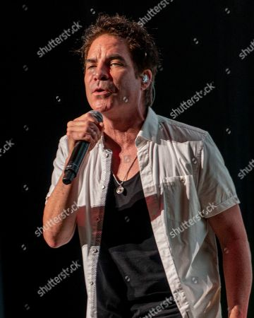Editorial photo of Train and The Goo Goo Dolls in Concert - , MA, Mansfield, USA - 17 Aug 2019
