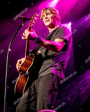 Johnny Rzeznik. The Goo Goo Dolls lead vocalist Johnny Rzeznki performs with the band at the Xfinity Center, in Mansfield, Mass