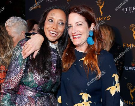 Michelle R. Cole, Alix Friedberg. Emmy nominated costume designers Michelle R. Cole, (Black-ish) left, and Alix Friedberg, (Sharp Objects), celebrate their nominations at the premiere of the 13th Annual Art of Television Costume Design at FIDM Museum & Galleries on in Los Angeles