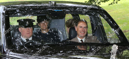 Editorial picture of British Royals attend Crathie Church, Balmoral, Scotland, UK - 18 Aug 2019