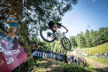 Editorial picture of UCI Mountain Bike World Cup Lenzerheide, Switzerland - 11 Aug 2019