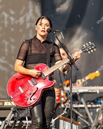 Stock Picture of Sharon Van Etten
