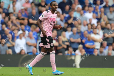 Leicester City defender Ricardo Pereira (21) during the Premier League match between Chelsea and Leicester City at Stamford Bridge, London