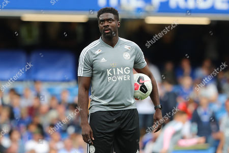 Kolo Toure during the Premier League match between Chelsea and Leicester City at Stamford Bridge, London