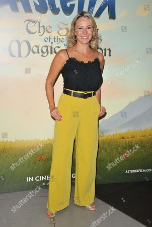 Editorial picture of 'Asterix: The Secret of the Magic Potion' film screening, Vue West End, London, UK - 18 Aug 2019
