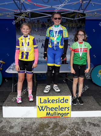 Rachel Smith of Navan Road Club, Joann Connor of Drogheda Wheelers and Holly McCaffery of Cuchulainn medalists in the Girls Under11 race at the Centra Youth Cycling National Championships in Mullingar. Over 200 boys and girls from U11 up to U16 participated throughout the weekend in Time Trial, Road Race and Criterium events. The Cycling Ireland National Championship was hosted by Lakeside Wheelers and supported by Centra Ireland. To find an event near you visit cyclingireland.ie
