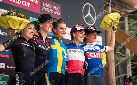 Editorial image of UCI Mountain Bike World Cup Lenzerheide 2019, SWITZERLAND - 11 Aug 2019