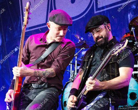 Stock Image of Volbeat - Kaspar Boye Larsen and Rob Caggiano