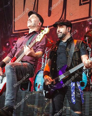 Volbeat - Kaspar Boye Larsen and Rob Caggiano