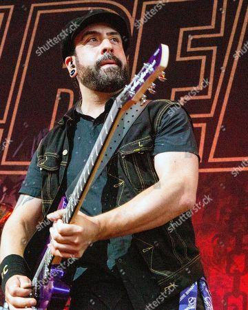Stock Picture of Volbeat - Rob Caggiano