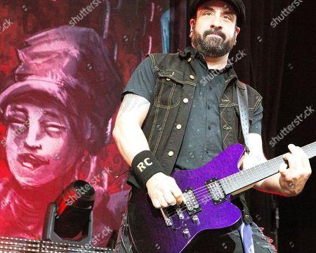 Stock Photo of Volbeat - Rob Caggiano