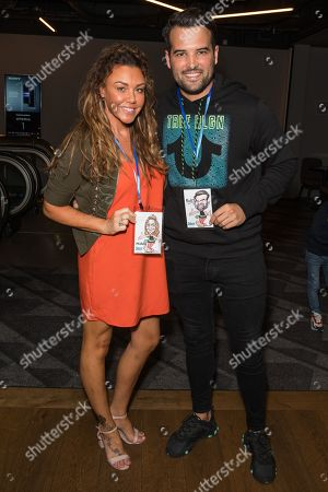 Michelle Heaton and Ricky Rayment