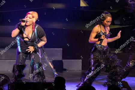 TLC - Tionne 'T-Boz' Watkins and Rozonda Thomas