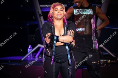 Editorial picture of TLC in concert at DTE Energy Music Theatre, Detroit, USA - 17 Aug 2019