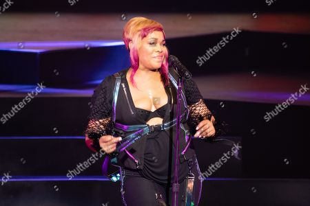 Stock Picture of TLC - Tionne 'T-Boz' Watkins