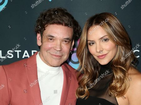 George Caceres and Katharine McPhee