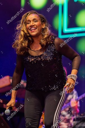 Kathy Sledge (of Sister Sledge) plays Rewind South music festival