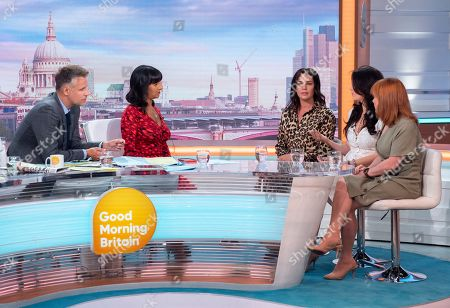 Editorial photo of 'Good Morning Britain' TV show, London, UK - 19 Aug 2019