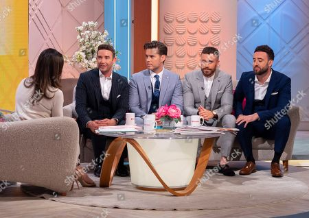 Christine Lampard and The Overtones - Jay James, Mike Crawshaw, Darren Everest and Mark Franks