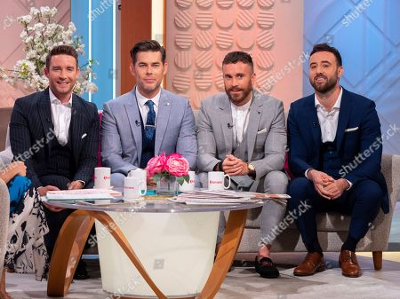 Stock Picture of The Overtones - Jay James, Mike Crawshaw, Darren Everest and Mark Franks