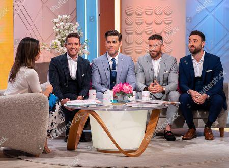 Editorial photo of 'Lorraine' TV show, London, UK - 19 Aug 2019