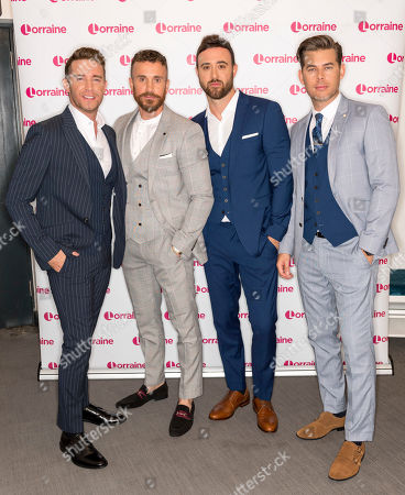 The Overtones - Jay James, Mike Crawshaw, Darren Everest and Mark Franks