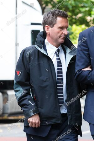 Lord Chris Holmes of Richmond arrives at Southwark Crown Court in London today, accused of sexual assault. Nine-time Paralympic swimming champion, Holmes is accused of touching the alleged victim at a hotel in central London.