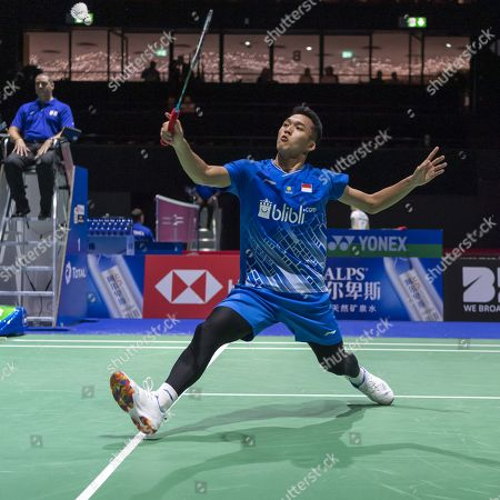 Editorial photo of BWF Badminton World Championships in Basel, Switzerland - 19 Aug 2019
