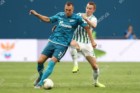 Editorial photo of FC Zenit St. Petersburg v FC Akhmat Grozny, Russian Premier League football match, Russia - 17 Aug 2019