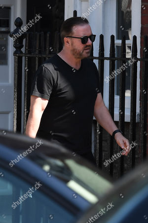 Ricky Gervais in Hampstead