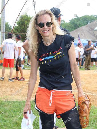 Editorial image of 'East Hampton Artists and Writers Charity Softball Game' at Herrick Park, New York, USA - 17 Aug 2019