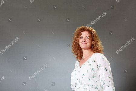 British novelist, Susan Fletcher attends a photocall at Edinburgh International Book Festival.