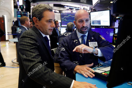 Editorial image of Financial Markets Wall Street, New York, USA - 19 Aug 2019