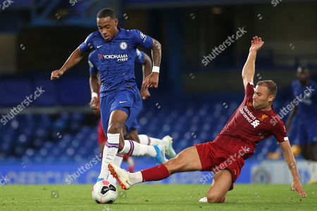 Editorial image of Chelsea Under-23 v Liverpool Under-23, Premier League 2, Football, Stamford Bridge, London, Greater London, United Kingdom - 19 Aug 2019