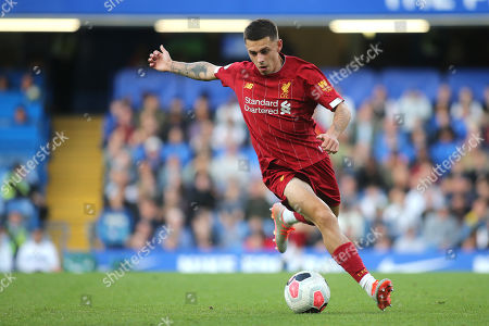 Adam Lewis of Liverpool in action during Chelsea Under-23 vs Liverpool Under-23, Premier League 2 Football at Stamford Bridge on 19th August 2019