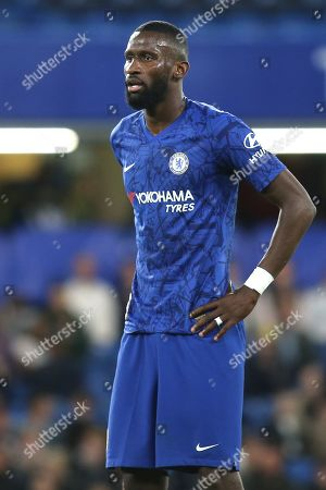 Stock Picture of Antonio Rudiger of Chelsea during Chelsea Under-23 vs Liverpool Under-23, Premier League 2 Football at Stamford Bridge on 19th August 2019