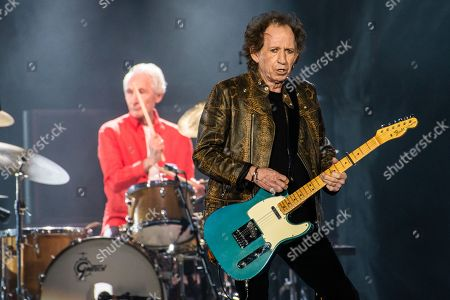 The Rolling Stones - Charlie Watts and Keith Richards