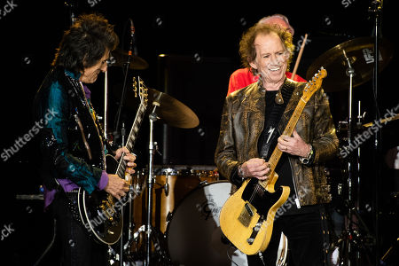 The Rolling Stones - Ronnie Wood and Keith Richards