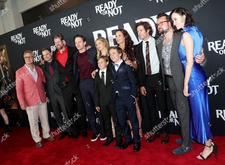 Henry Czerny, Guy Busick, R. Christopher Murphy, Mark O'Brien, Samara Weaving, Ethan Tavares, Liam Macdonald, Andie MacDowell, Adam Brody, Kristian Bruun, and Elyse Levesque