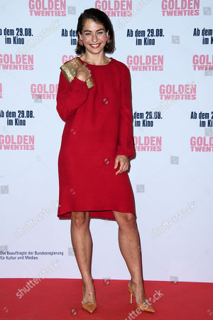 Henriette Confurius attends the premiere of the movie 'Golden Twenties' at the cinema Kino International in Berlin, Germany, 19 August 2019. The movie Golden Twenties screens in German cinemas from 29 August 2019.