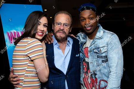Colleen Ballinger, Barry Weissler and Todrick Hall