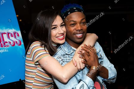 Stock Image of Colleen Ballinger and Todrick Hall
