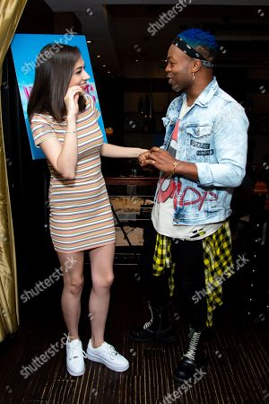 Stock Photo of Colleen Ballinger and Todrick Hall