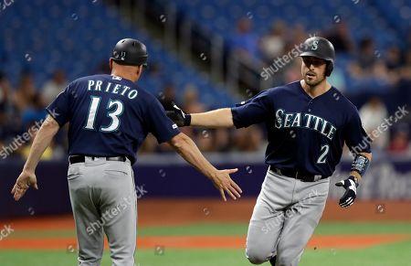Editorial image of Mariners Rays Baseball, St. Petersburg, USA - 19 Aug 2019