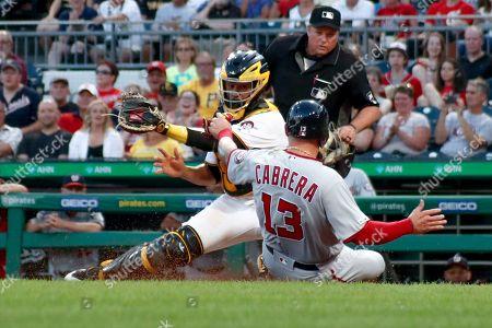 Editorial photo of Nationals Pirates Baseball, Pittsburgh, USA - 19 Aug 2019